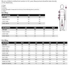 Hm Size Chart Bumpy Shop H M Kids Size Guide