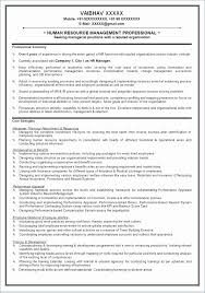 Resume Best Practices Hr Specialist Resume New Human Resource Manager Resume Beautiful