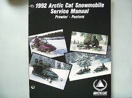 manuals 15 trainers4me nos 1992 arctic cat prowler pantera service repair shop manual 2254 732
