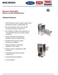 10kw heat strip wiring diagram 30 wiring diagram images wiring carrier bryant payne wgs hs brochure 10 kw heat strip for carrier bryant payne straight cool