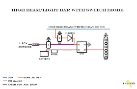 wiring led light bar to high beams wiring diagram new led bar wiring ion nissan an forum 30w cree led wiring diagram