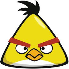 angry birds chuck yellow