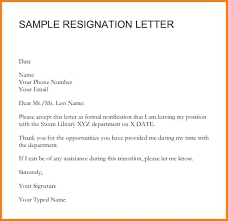 Formal Letter Of Resignation Magnificent Best Ideas Of Formal Resignation Letter Sample With Personal Reason