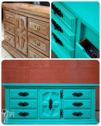 turquoise painted furniture ideas.  Painted Turquoise Dresser Intended Turquoise Painted Furniture Ideas
