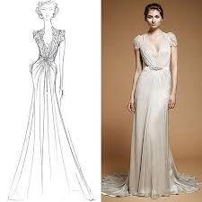 Clothing Design Ideas express yourself with fashion design sketches of dresses in colors9