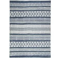 blue and white rug blue white patterned cotton rug target blue and white outdoor rug