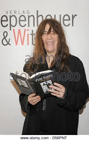 patti smith us rock icon patti smith presents her book just kids in cologne germany