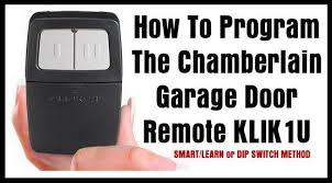 chamberlain garage door opener remote. Chamberlain KLIK1U Clicker Universal Remote Control For Garage Door Openers Chamberlain Garage Door Opener Remote