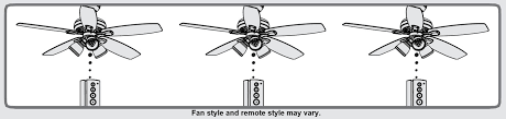 if you want to install multiple fans with independently operating remote controls and the fans are on the same circuit breaker please follow these extra