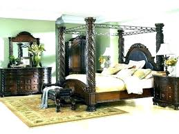 King Size Wood Canopy Bed King Size Wood Canopy Bed King Size Poster ...