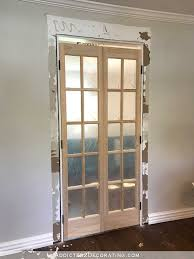 bifold closet doors installation prehung interior french frosted