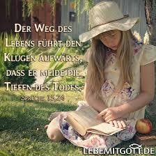 Der Weg Des Lebens Eines Klugen Lebe Mit Gott Andachten