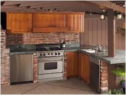 Prefabricated Kitchen Cabinets Kitchen Outdoor Kitchen Cabinets With Sink Image Of