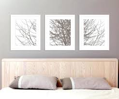 modern tree branches art prints for bedroom wall art set of 3 taupe brown winter tree bedroom wall  on wall art prints for bedroom with chic bedroom wall art wall art design bedroom wall art ideas