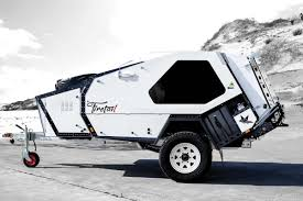 the tvan firetail by australia based track trailer a teardrop trailer that costs 57 900 all photos courtesy of track trailer travel