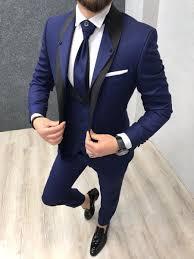 New Suit Design 2019 Man Lazio Sax Tuxedo Suit Designer Suits For Men Mens Fashion