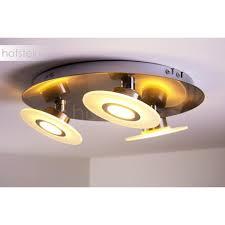 paul neuhaus magna ceiling light led stainless steel 8563 55