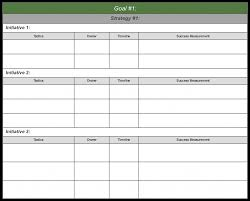 Document Sales Development Plan Template