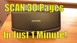 Fujitsu <b>ScanSnap iX1500</b> Color Duplex <b>Document Scanner</b> - FULL ...