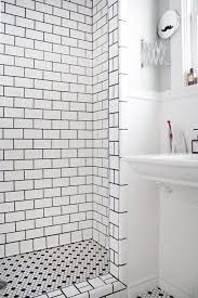 black and white tiled bathrooms. black and white shower tile ideas pictures tiled bathrooms n