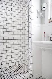 black and white shower tile 1 black and white shower tile 2