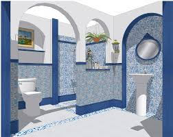 Small Picture Backsplash Tiles Kitchen Blue Glass Stone Blend Mosaic Natural