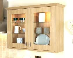 glass fronted wall cabinet glass fronted kitchen wall units marvellous light oak mounted display case full glass fronted wall cabinet
