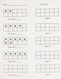 tename worksheets pdf cool pre k for kids classroom math ten frame printables kindergarten 1400