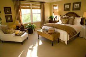 French Country Master Bedroom Ideas White Painted Finish Window - Master bedroom window treatments