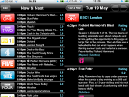 tv guide. tvguide.co.uk tv guide review - iphone application reviews | know your mobile tv w