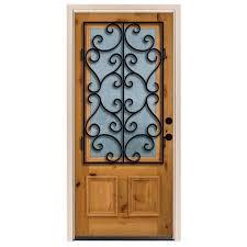 Chestnut - Front Doors - Exterior Doors - The Home Depot