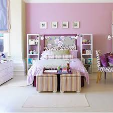 Bedroom design for girls purple Female Patterns Help Soften And Add Texture To This Lavender Room purple toddler Pinterest Purple Nurseries Toddler Rooms Purple Kids Room Pinterest