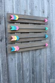 make your own arrow wall decor fabulous diy wood arrows wall art tutorial