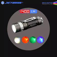 Đèn Pin Jetbeam RRT03 1400LM Điều Khiển Xoay EDC Đèn Pin Chiến Thuật Công  Tắc 4 Màu Đèn LED Sạc 18350 Pin|keychain flashlight|a flashlightjetbeam  mini-1 - AliExpress