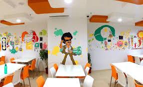 wall murals office. unique murals freshdesk office chennai wall mural to wall murals office