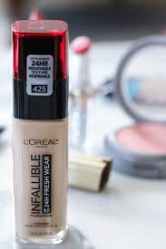 loreal infallible fresh wear foundation review i best makeup loreal makeup beautytips