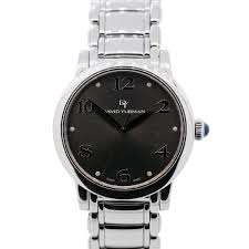 david yurman t716 m stainless steel grey dial mens watch david yurman watches