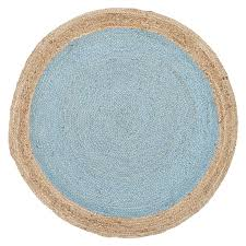 tortuga jute round rug blue rugs and rounding brisbane culture zanui beach house decor next hall