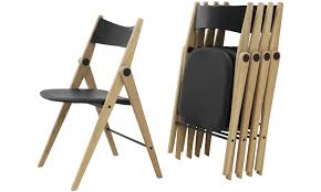adorable padded wooden folding chairs of