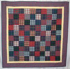 Tartan Squares Patchwork Quilts Handmade Unique Lap Quilts ... & Tartan Squares Adamdwight.com