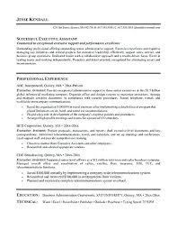 Executive Secretary Resume Template. Executive Secretary Resume ...