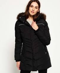 superdry glacier parka jacket black superdry tops superdry maxi dresses