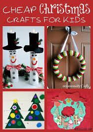 40 Easy And Cheap DIY Christmas Crafts Kids Can Make  Reuse Christmas Crafts Cheap