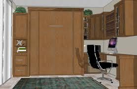 murphy bed office. Wall Bed Home Office 1 Murphy