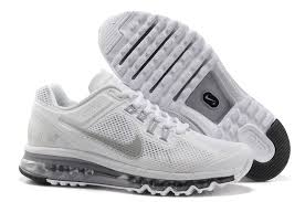 nike shoes white air max. nike air max 2013 white wolf grey reflective silver women\u0027s shoes 0