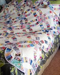 Quilts We've Made: Double Wedding Ring & Double Wedding Ring Quilt 3 Adamdwight.com