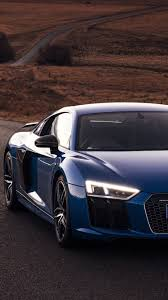 audi r8 wallpaper iphone. Delighful Iphone Audi R8 V10 Blue Long Road Desert Cars Intended Wallpaper Iphone D