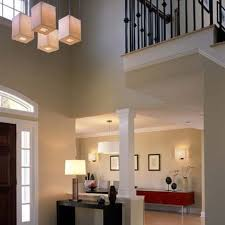 entryway lighting fixtures. four pieces rectangular shapes modern foyer lighting designs decoration hanging lamps ideas entryway fixtures