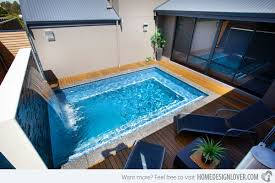 Small Pool Designs For Small Backyards Amazing 48 Great Small Swimming Pools Ideas Home Design Lover
