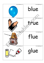 This post contains affiliate links. Word Picture Cards That Contains Ue As In Blue Phonics Esl Worksheet By Jenniferoz69